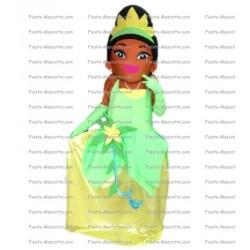 mascotte-Princesse-et-la-grenouille