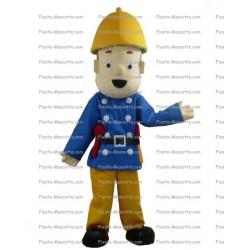 mascotte-Personnage-pompier