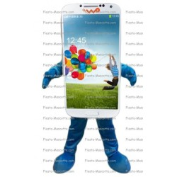 mascotte-Téléphone-Samsung