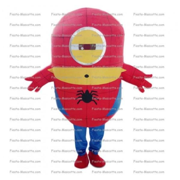 mascotte-Minion-Spiderman