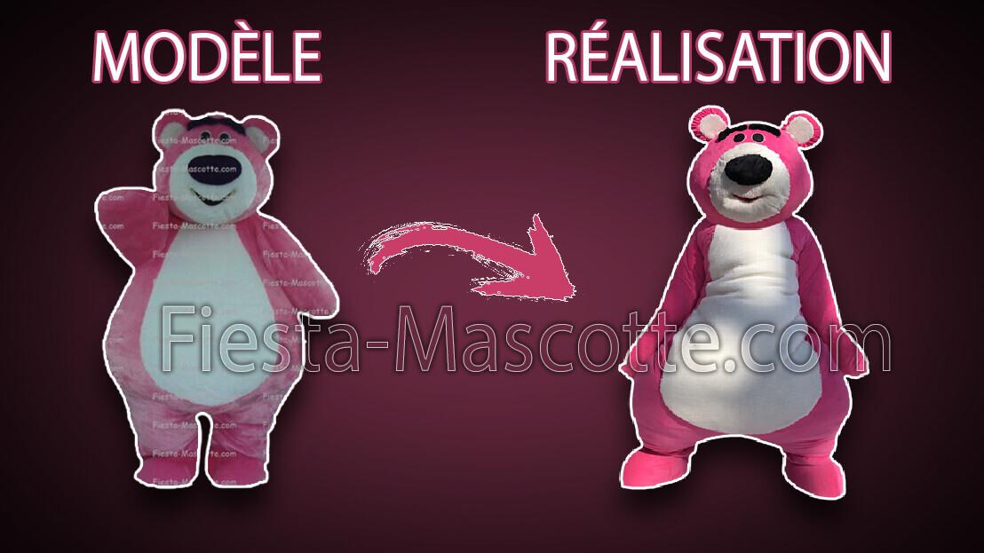 modèle / réalisation mascotte toy story
